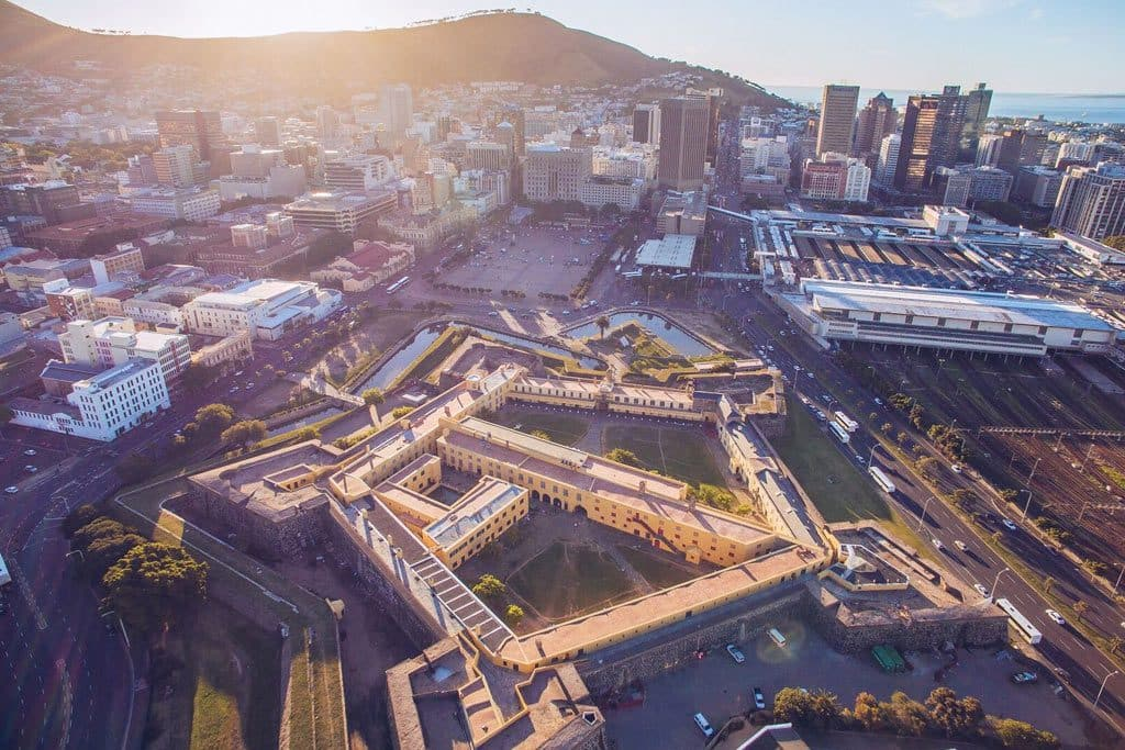 The Castle of Good Hope in Cape Town