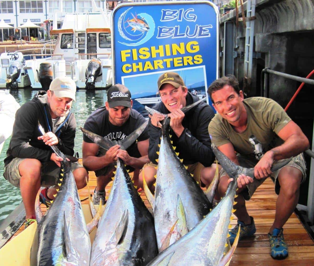 Big blue fishing charters cape town tourism for Big blue fish