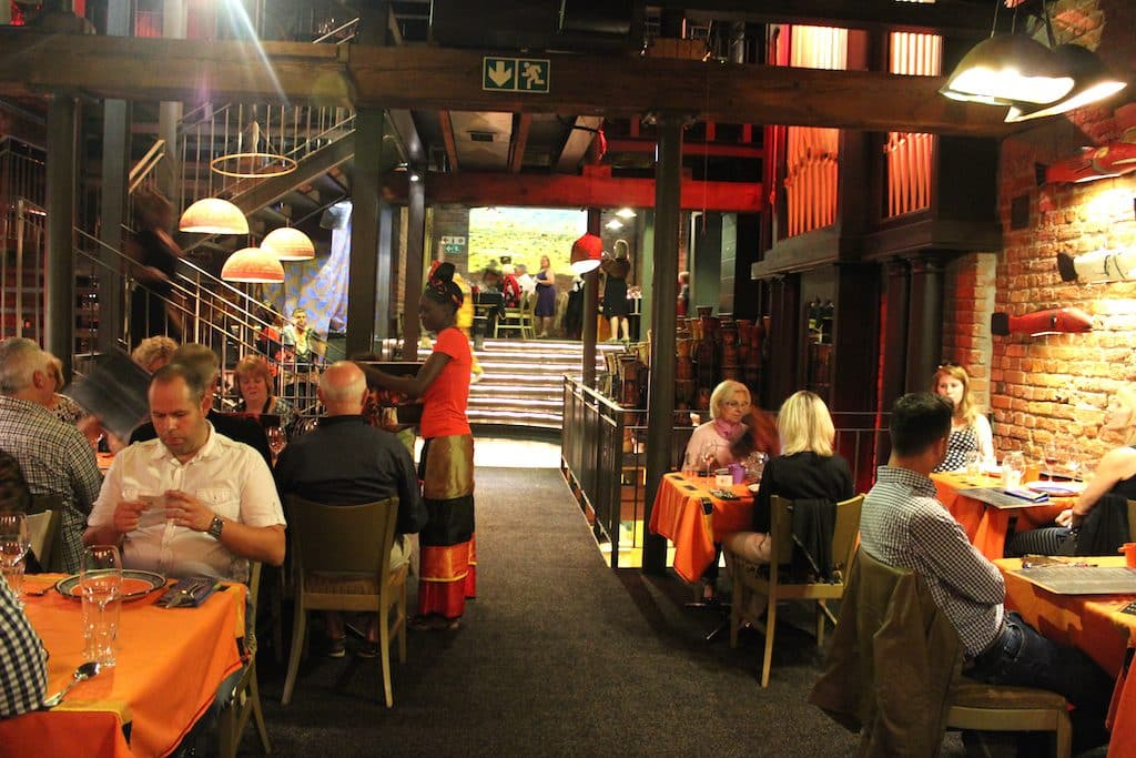 Where to eat in Cape Town - Gold Restaurant