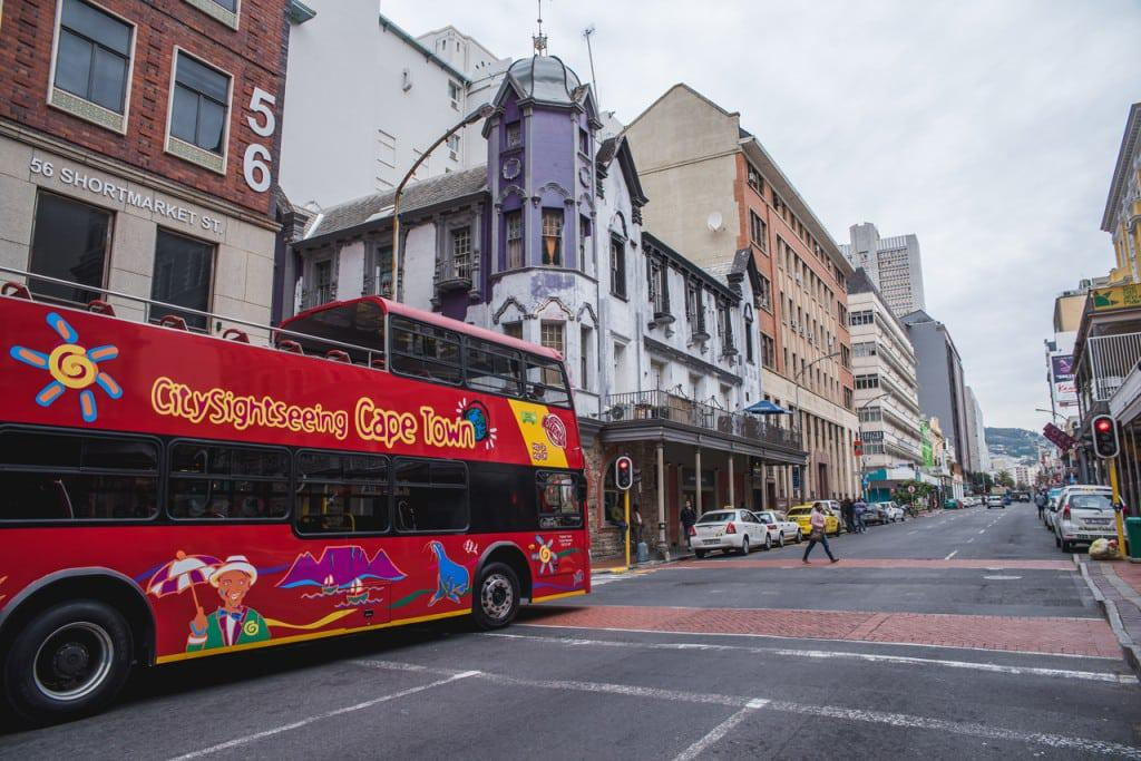 Long street with city sightseeing bus craig howes