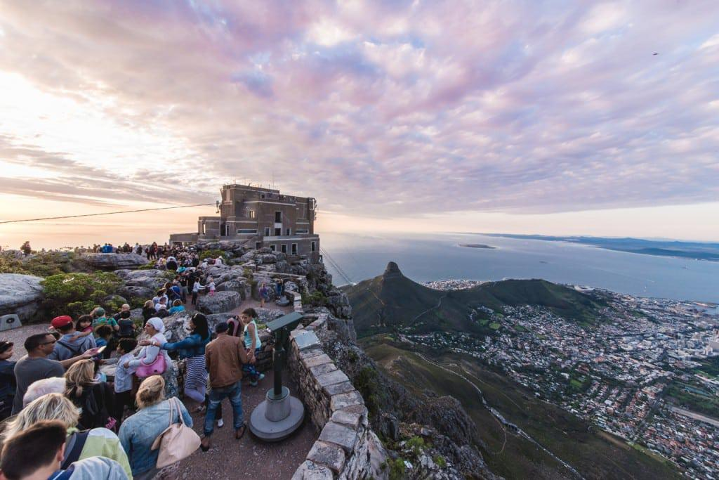 Top 0f Table Mountain Cableway Craig Howes