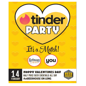Beerhouse on Long Tinder Party