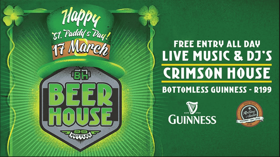 St. Patrick's Day with Crimson House