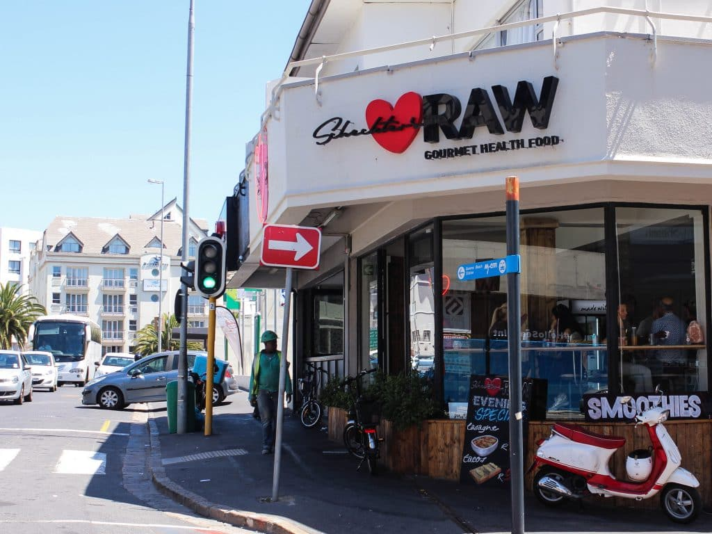 Scheckters Raw in Sea Point