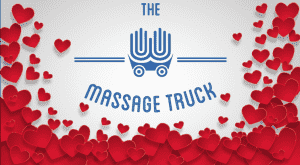 The Massage Trucks celebrates the month of love!