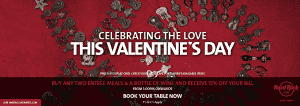 Valentines Day at Hard Rock Cafe