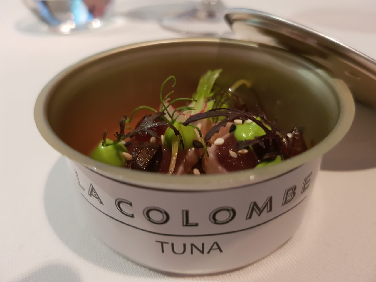 Fine Dining at La Colombe in Cape Town best restaurants