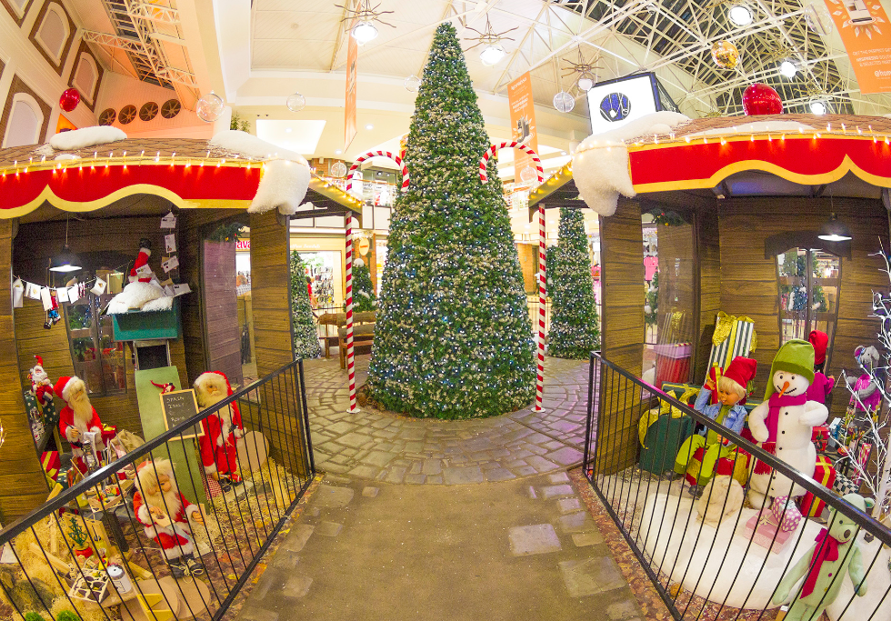 Christmas at the V&A Waterfront in Cape Town