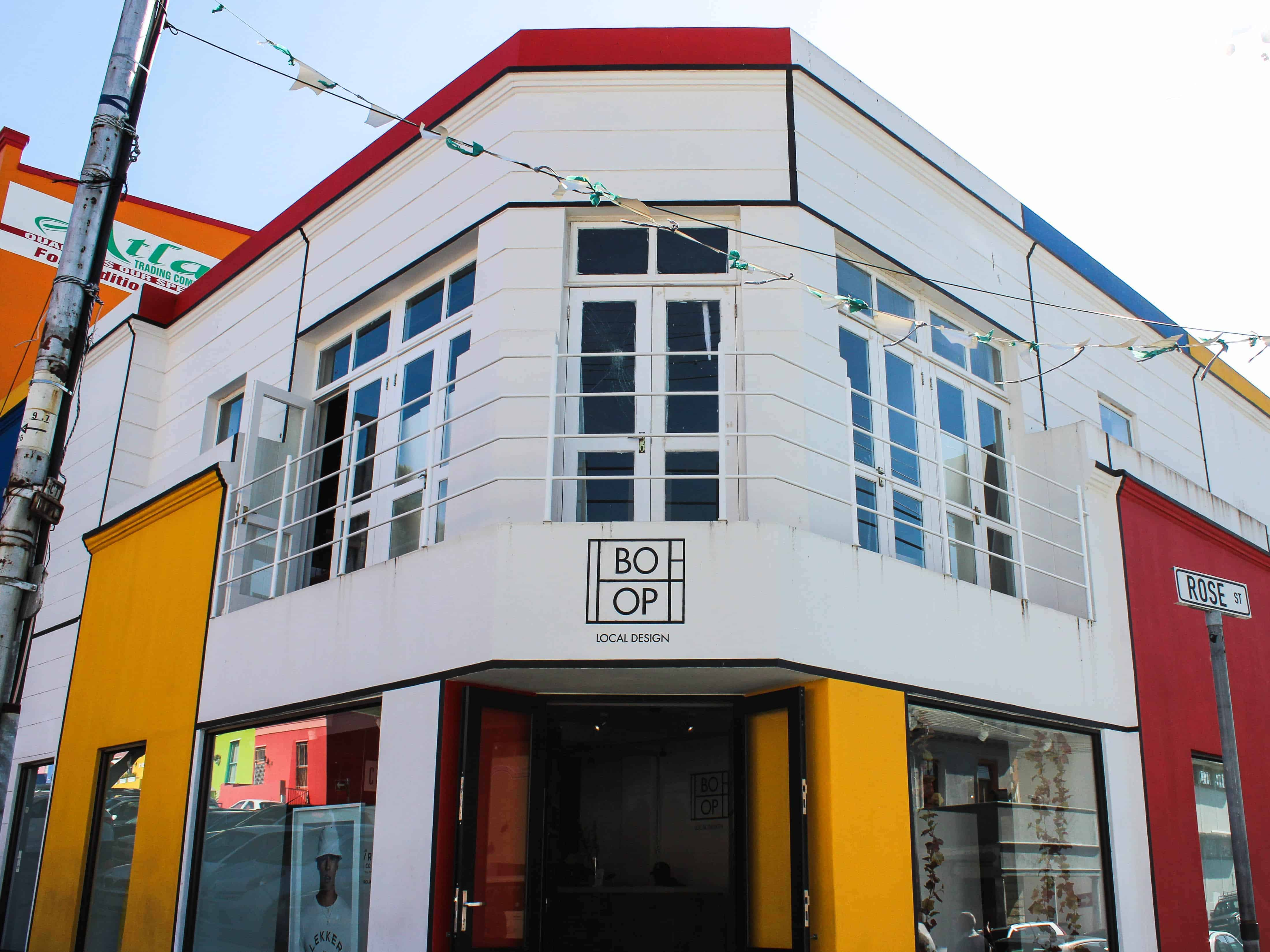 Bo-Op local designer collective in the Bo-Kaap