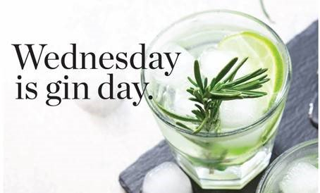 Wednesday is Gin Day at Southern Sun Waterfront