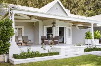 Soak in Franschhoek at La Petite Ferme