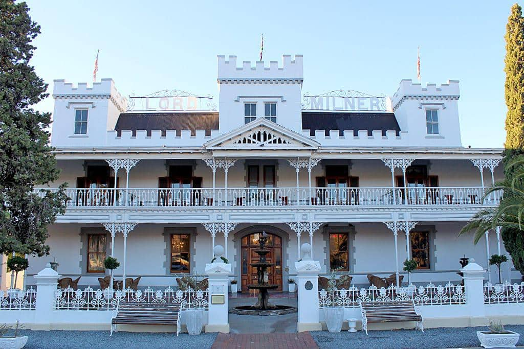 The Lord Milner Hotel in Matjiesfontein