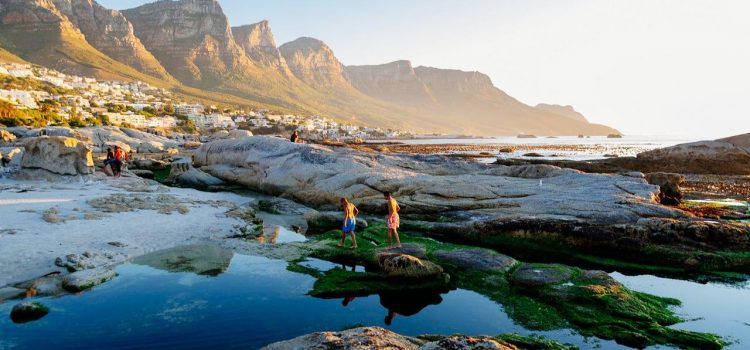 Tidal pools in Cape Town
