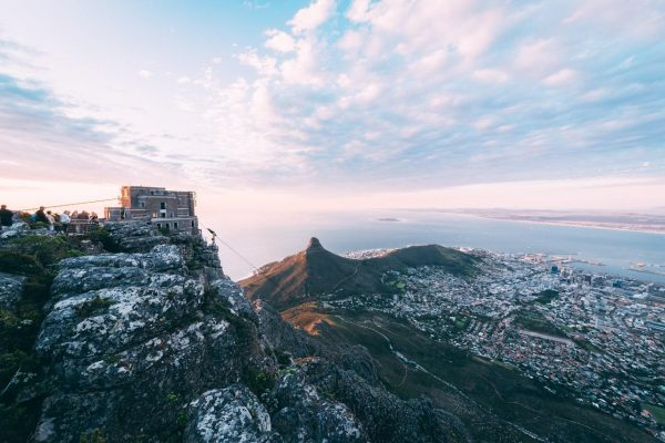 The Table Mountain cableway.