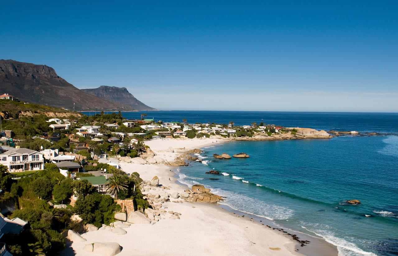 Clifton Beach in Cape Town