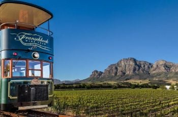Connect to the Franschhoek Wine Tram from Cape Town