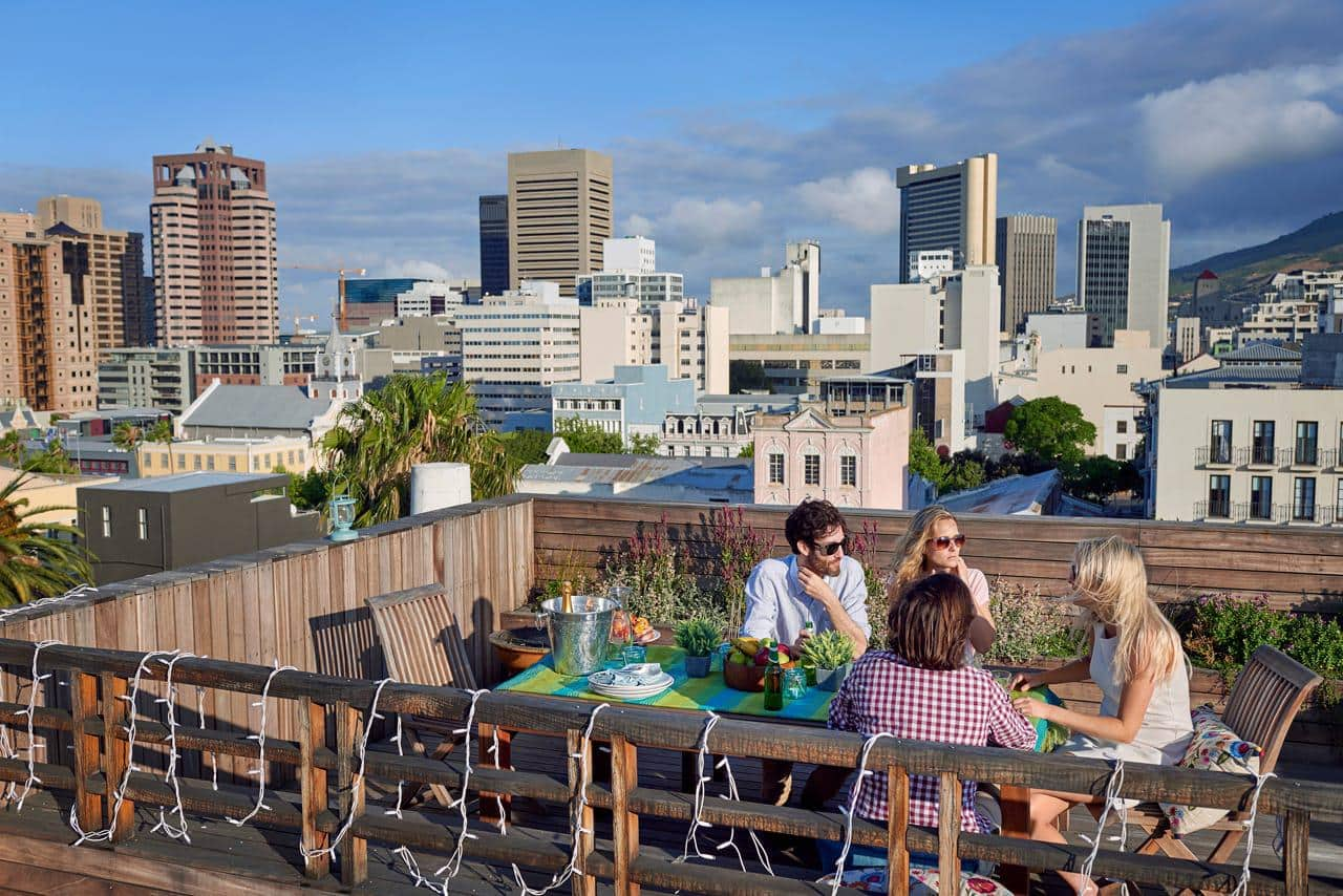 Rooftop lunch CBD