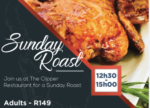 Sunday Roast at The Commodore Hotel V&A Waterfront
