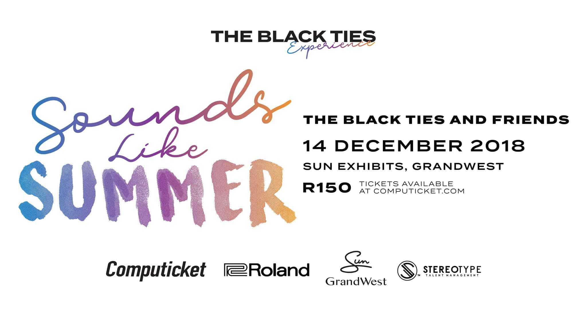24497d841 The Black Ties, One of South Africa's premier cover bands, has started a  series of themed live performances entitled, The Black Ties Experience  which you ...