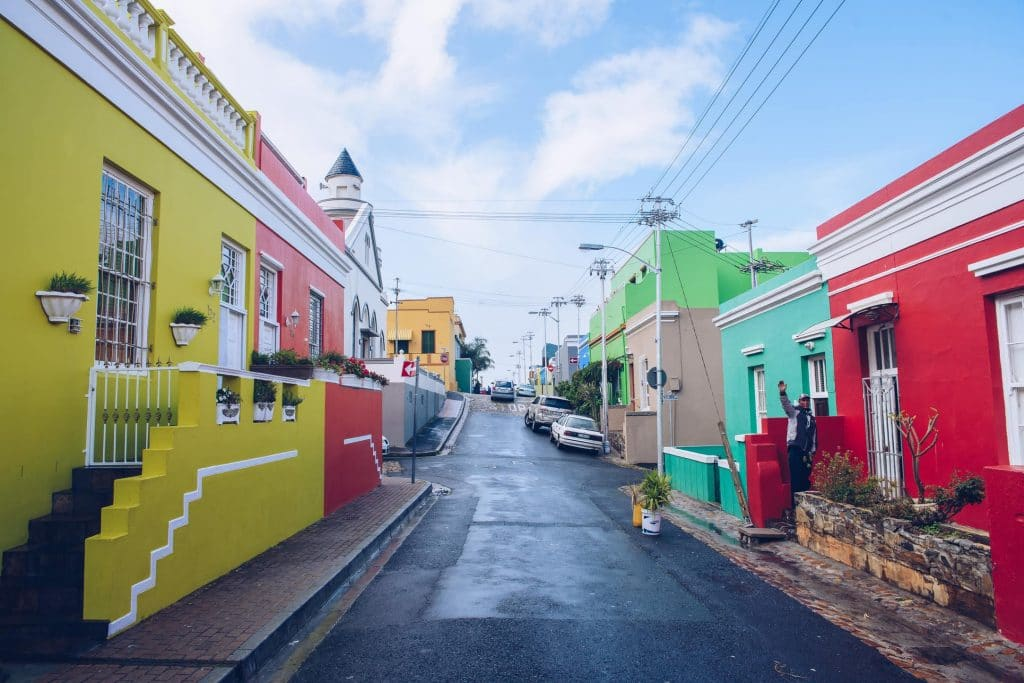 The beautiful streets of the Bo-Kaap