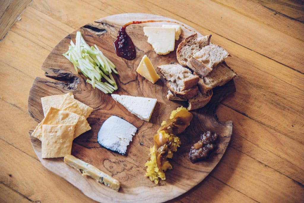 Culture Club Cheese platter.