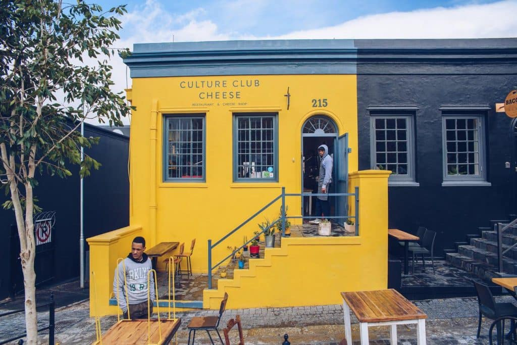 Culture Cheese Club on Bree Street in Cape Town by Craig Howes