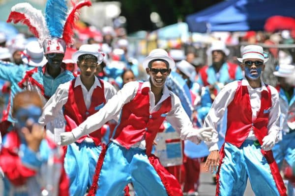 Minstrels performing in Cape Town