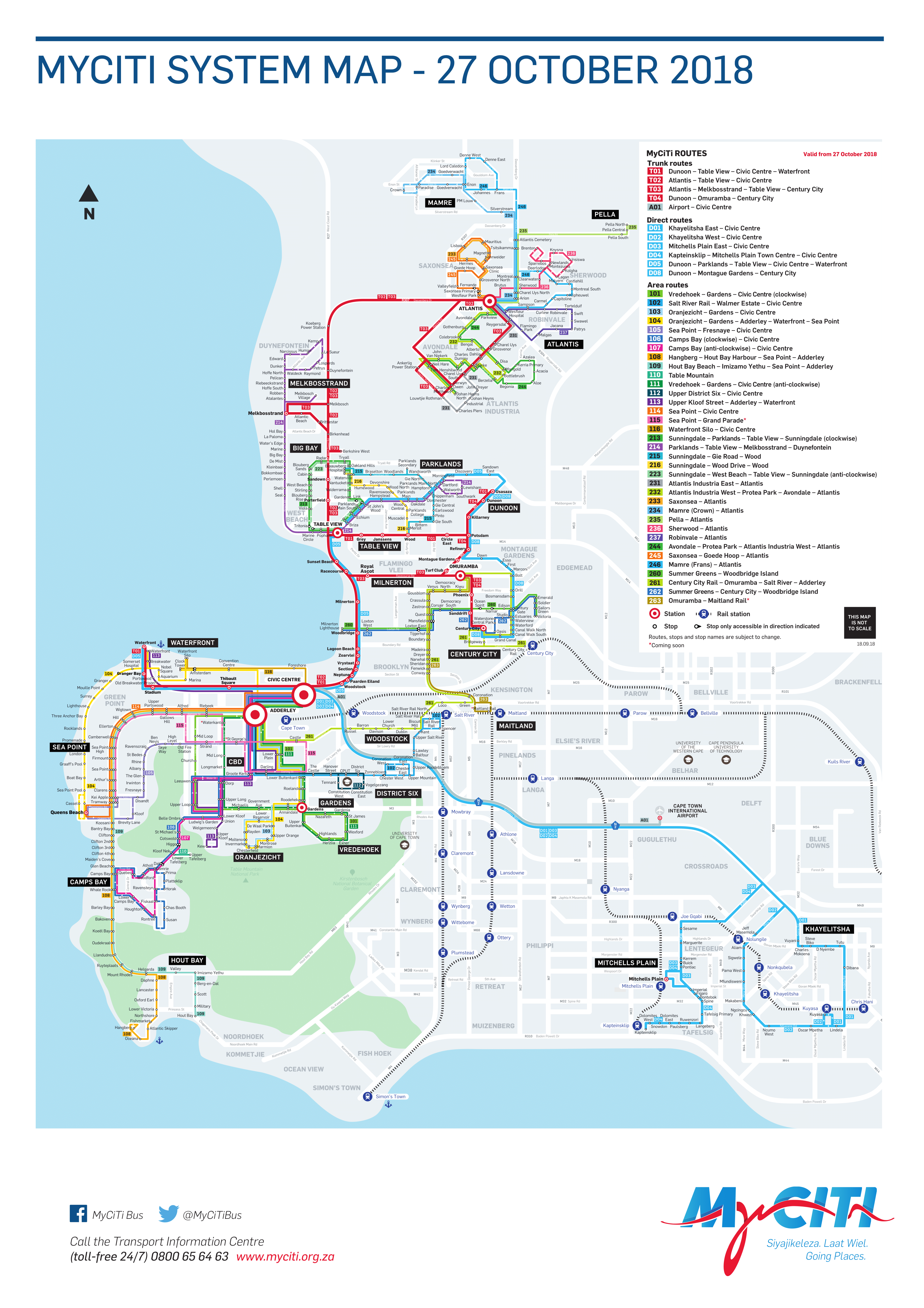 My Citi Route MAp