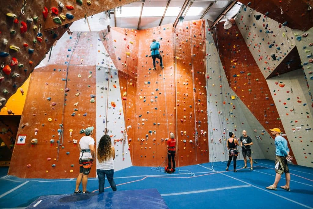 Indoor Climbing at CityROCK