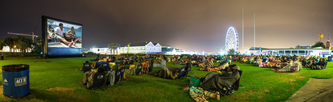 Galileo Open Air Cinema this festive season at the V&A Waterfront