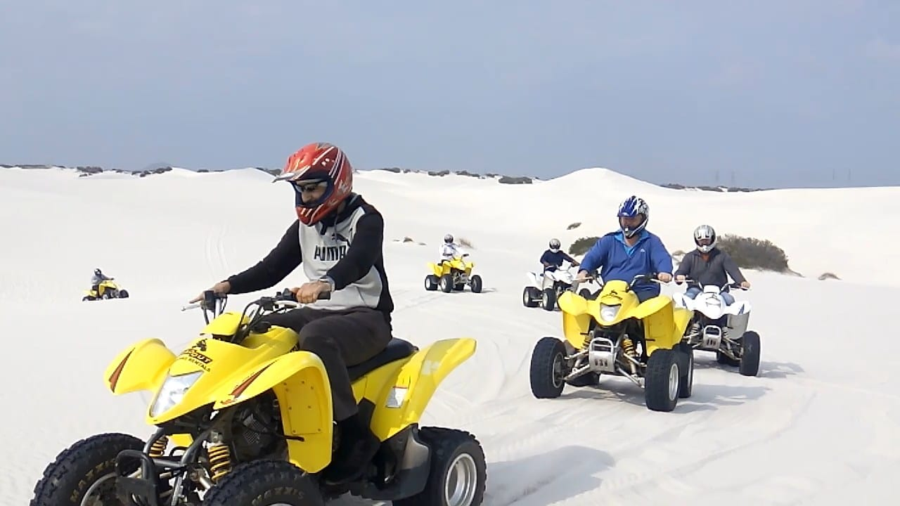Quad biking Atlantis Dunes