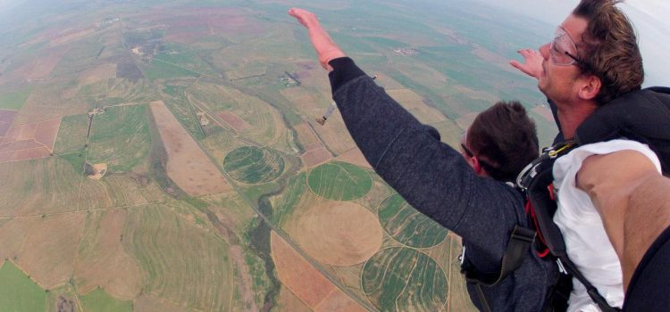 Go Sky Diving in Cape Town