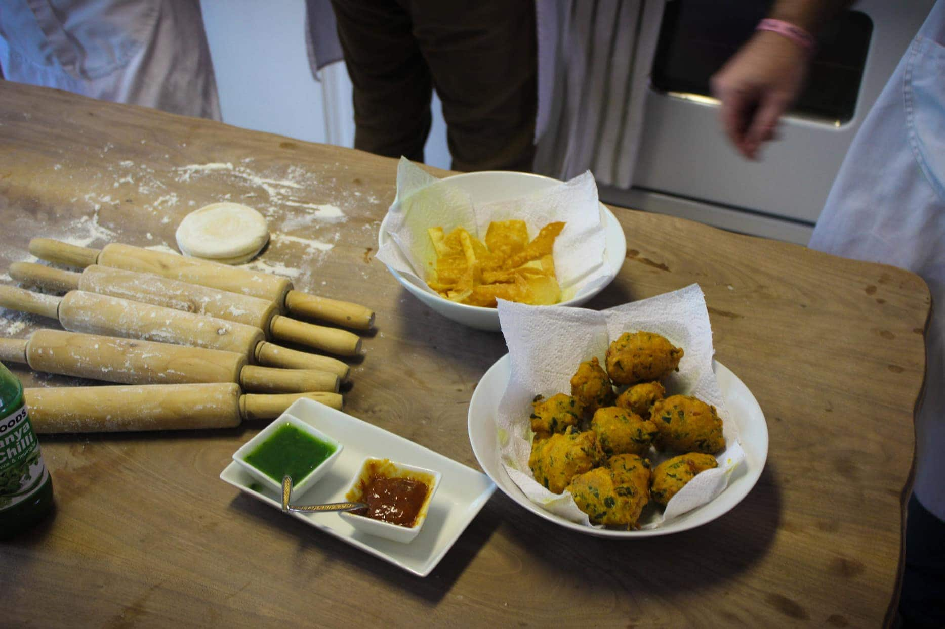 Snacks on the Bo-kaap cooking tour with Zainie Misbach