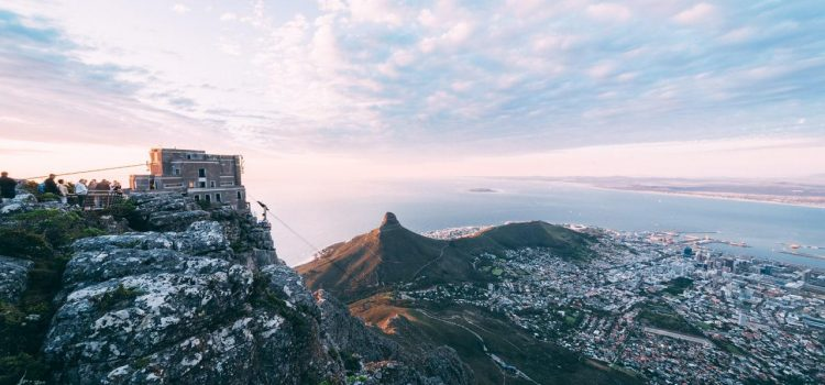 The Table Mountain Aerial Cableway: then and now