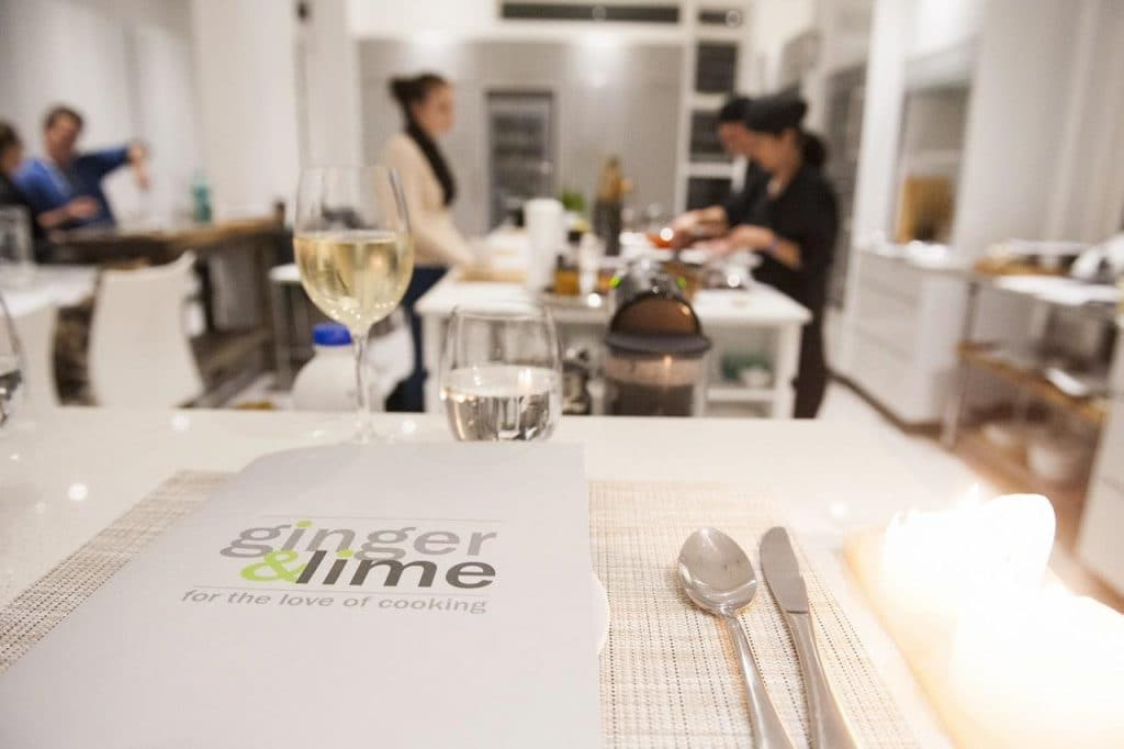 ginger and lime cooking courses