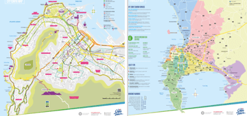 Maps & Guides | Cape Town Travel Cape Town Map on