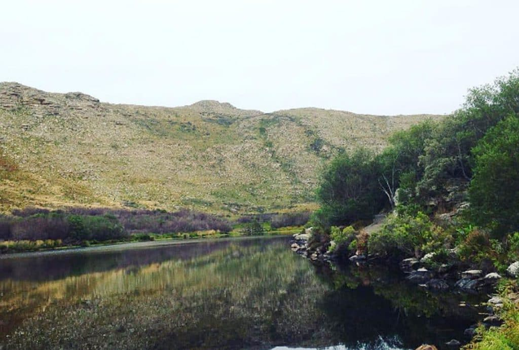 A view of silvermine dam