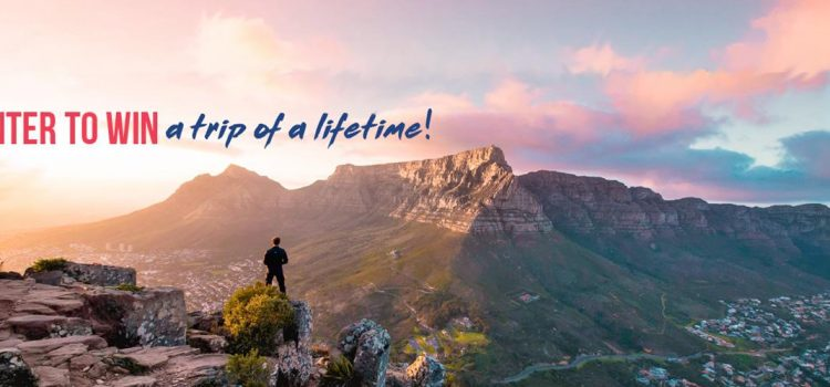 Win a dream trip to Cape Town to the value of $8000!