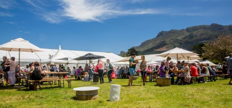Christmas gift markets in Cape Town