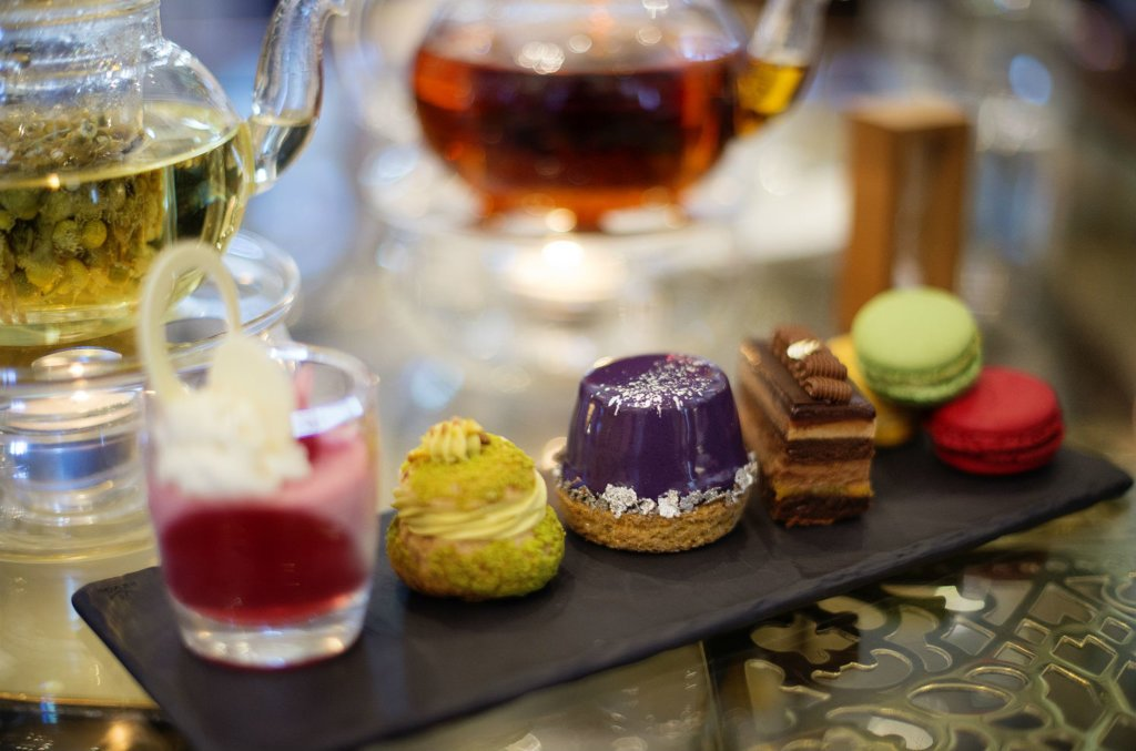 Afternoon tea at the Cape Grace Hotel. (Claire Gunn)