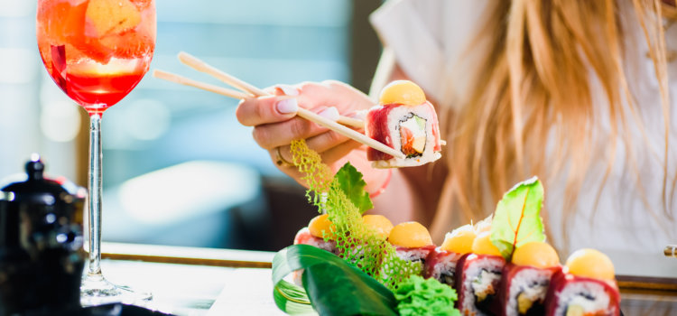 6 great spots for sushi and sundowners