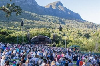Outdoor music festivals in and around Cape Town