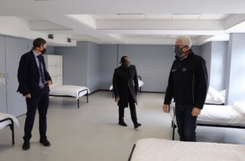 COVID-19: Old Mutual converts training centre into 300-bed quarantine facility