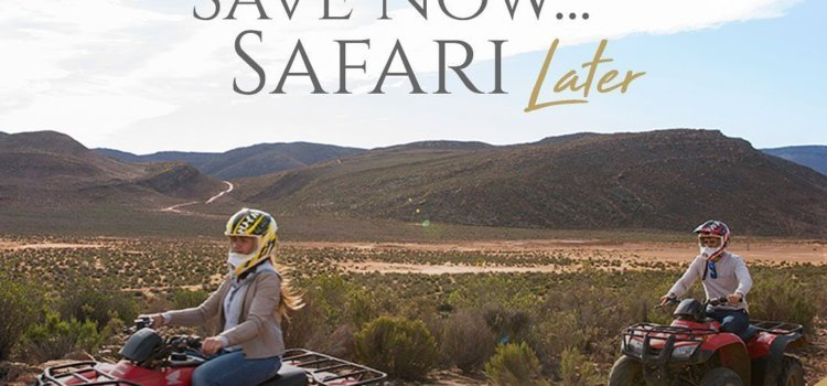 Save now, safari later – Aquila Private Game Reserve