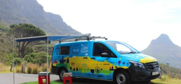 Thando – our mobile visitor information vehicles – is back on the road