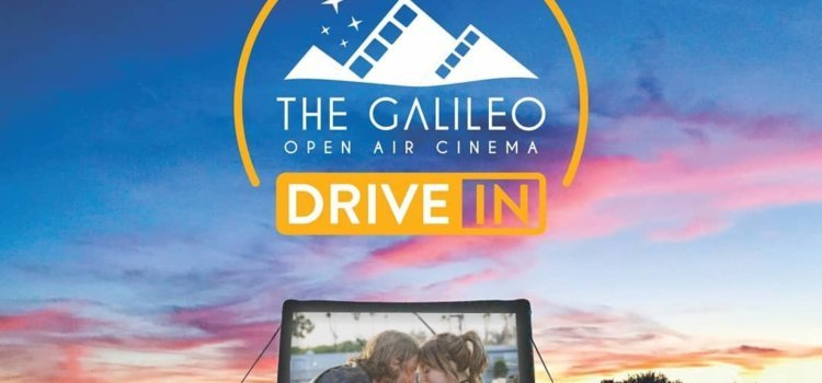 The Galileo Drive-In invites you to enjoy the big screen from the comfort of your car