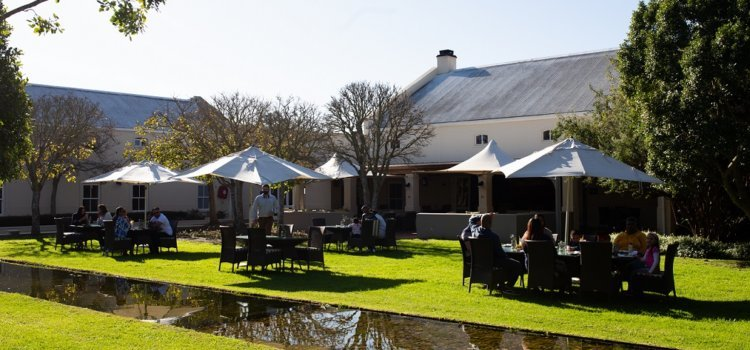 Delicious dining at Spier Hotel