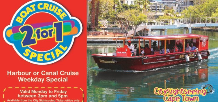 City Sightseeing 2 for 1 Harbour or Canal Special