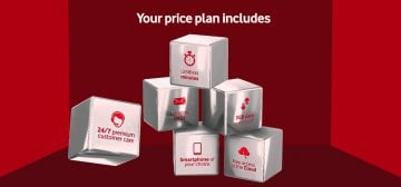 Find a Vodacom RED VIP plan for you